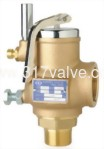(SVPF-B2L (PTFE)) FULL BORE BRONZE SAFETY RELIEF VALVE