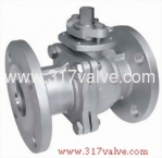 (BV-13F/BV-17F/BV-34F/BV-36F) 2-PC BALL VALVE FLANGED END TO JIS 10K