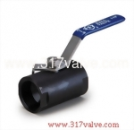 (BV-45C) BAR STOCK 1-PC BALL VALVE (REDUCING BORE) 800 WOG
