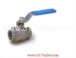 (V-2IN/V-2INC) NEW 2-PC INVESTMENT CASTING BALL VALVE 800 WOG