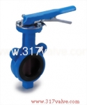 (BF-WCB-26N/26S/26M/28G/28S/28M) CAST STEEL BUTTERFLY VALVE WAFER TYPE LEVER & GEAR OPERATED