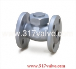 (DG-112) DUCTILE IRON LIFT CHECK VALVE FLANGED END CLASS 10K 1/2