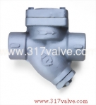 (ST-T3A) CAST IRON STEAM TRAP 16K SCREWED END