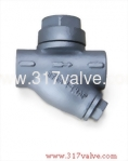 (ST-8LS) CAST IRON STEAM TRAP 16K SCREWED END
