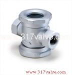 (SK-B1) CAST IRON SIGHT GLASS SCREWED END (FLAPPER TYPE)