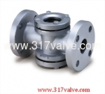 (SK-B2) CAST IRON SIGHT GLASS FLANGED END (FLAPPER TYPE)