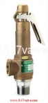 (SV-BS9L) BRONZE SAFETY RELIEF VALVE-BRONZE BODY/SS DISC