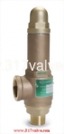(SV-B9DL/SVP-B9DL)  LOW LIFT BRONZE SAFETY RELIEF VALVE (1x2)