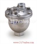 (AV-10K/AV-16K/AV-PN16/AV-304) CAST IRON / ST.ST.304 AIR RELEASE VALVE (Automatic Air Vent Valve)