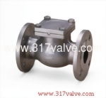 (SS304-14E/SS316-16E) STAINLESS STEEL SWING CHECK VALVE JIS 10K