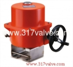 (UM-8 & UM-10 Series with Mounting Kits) ELECTRIC ACTUATOR