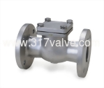(SS304-24E/SS316-26E) STAINLESS STEEL SWING CHECK VALVE JIS 20K