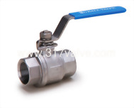 (BV-2P6/BV-2PC/BV-2PM/BV-2PCM) 2-PC INVESTMENT CASTING BALL VALVE (FULL BORE) 1000 WOG