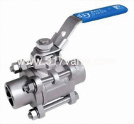 (BV-3PS-BW/BV-3PC-BW) 3-PC FULL PORT BALL VALVE