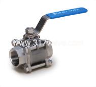 (BV-3PS/BV-3PC/BV-3PM/BV-3PCM) 精密鑄造316/碳鋼三片式球塞閥(全量式) 1000 WOG