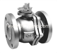 (BV-13F) 2-PC BALL VALVE FLANGED END TO JIS 10K