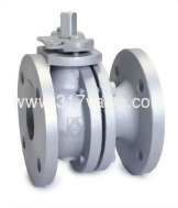 (BV-61F/BV-63F/BV-64F/BF-66F) 2-PC FLANGE BALL VALVE (FULL BORE) PN10/16