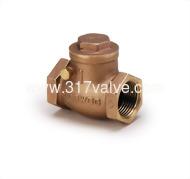 (BG-T25/BG-T26) BRONZE / BRASS SWING CHECK VALVE CLASS 300/150