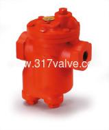(ST-B1A / ST-B2A / ST-B3A) Cast Iron Inverted Bucket Air Trap