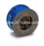 (WCV-12U / WCV-124 / WCV-126) WAFER TYPE DUAL-PLATE CHECK VALVE