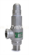 (SS316-S67) LOW LIFT MF ST.ST.316 SAFETY RELIEF VALVE