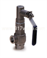 (SS316-S89) FF ST.ST.316 SAFETY RELIEF VALVE Double Female Screwed. (Inlet/Outlet) Closed Type