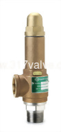 (SV-BS9A/SVP-BS9A) BRONZE SAFETY RELIEF VALVE-BRONZE BODY/SS DISC
