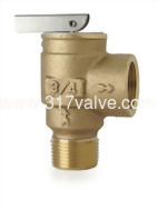 (SV-WATT) BRONZE SAFETY RELIEF VALVE