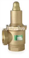 (SV-WB9A) BRONZE SAFETY RELIEF VALVE