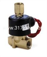(UA (三通)小流量系列) 直動式通電開型電磁閥