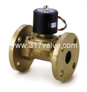 (UWF (接式)大流量系列) 銅製直複動連結膜片式通電開型電磁閥