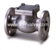 10K CHECK (SS304-14E/SS316-16E) STAINLESS STEEL SWING CHECK VALVE JIS 10K