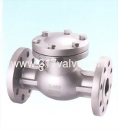 (SS304-34E/SS316-36E) STAINLESS STEEL SWING CHECK VALVE ANSI 300