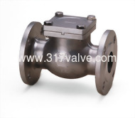 (SS304-54E/SS316-56E) STAINLESS STEEL SWING CHECK VALVE ANSI 150