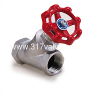 (YG-316) STAINLESS STEEL Y-GLOBE VALVE CLASS 600