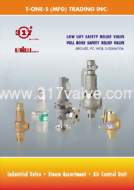 BRIEF CATALOG 2015 - SAFETY RELIEF VALVE