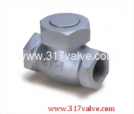 (DG-202) DUCTILE IRON LIFT CHECK VALVE SCREWED END CLASS 20K