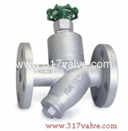 (ST-T6F) CAST IRON STEAM TRAP MANUAL TYPE FLANGED END