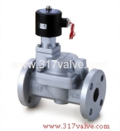 (USF-NO Series) MULTIPLEX, PILOT OPERATED PISTON, CONDUCTIVE AND NORMALLY OPEN FC20 SOLENOID VALVE 1.1/4