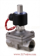 (SUW-NO Series) DIRECT, MULTIPLEX, CONNECTED DIAPHRAGM CONDUCTIVE AND NORMLLLY OPEN SS316 SOLENOID VALVE