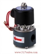 (UDC Corrosion Resistance Series (PVC Body)) DIRECT-ACTING, CONDUCTIVE AND NORMALLY CLOSED SOLENOID VALVE