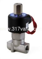 (SUS-NO 小流量系列) 不鏽鋼316直動式通電閉型電磁閥 1/8~3/8
