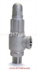 LOW LIFT MF ST.ST.316 SAFETY RELIEF VALVE (SS316-S67)