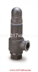 FF ST.ST.316 SAFETY RELIEF VALVE Double Female Screwed. (Inlet/Outlet) Closed Type  (SS316-S87)