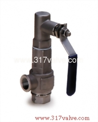 FF ST.ST.316 SAFETY RELIEF VALVE Double Female Screwed. (Inlet/Outlet) Closed Type  (SS316-S89)