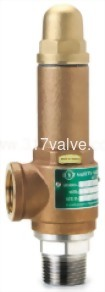 BRONZE SAFETY RELIEF VALVE (1x2) (SV-BS9DA/SVP-BS9DA)