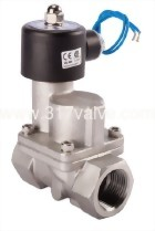 MULTIPLEX, PILOT OPERATED PISTON, CONDUCTIVE AND NORMALLY CLOSED SOLENOID VALVE 1/2 (SUS Series)