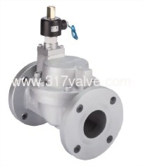 MULTIPLEX, PILOT OPERATED DIAPHRAGM, CONDUCTIVE AND NORMALLY OPEN FC20 SOLENOID VALVE 1.1/4 (UWF-NO Series)