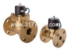 MULTIPLEX, PILOT OPERATED PISTON, CONDUCTIVE AND NORMALLY CLOSED SOLENOID VALVE FLANGED END (USF (CONN.) Series)
