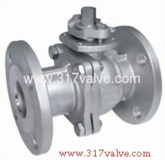 2-PC BALL VALVE FLANGED END TO JIS 10K (BV-13F/BV-17F/BV-34F/BV-36F)